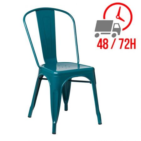 Industrielle / Métal - Bleu Turquoise