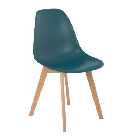 Scandinave / Confort - Bleu Turquoise Intense