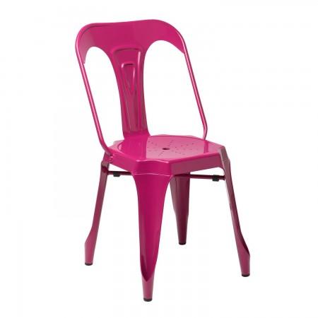 Industrielle Design / Métal - Rouge Sangria