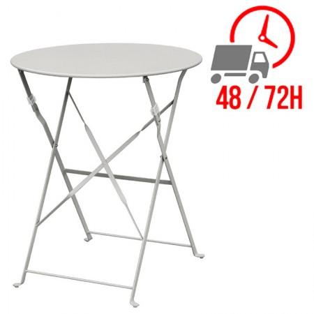 Table de terrasse Ø60cm / Grise