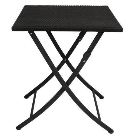 Table pliante 60x60cm / Rotin PE