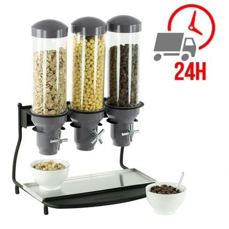 Distributeur de céréales 3 tubes