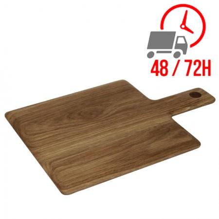 Planche en bois rectangulaire - 230 x 230 mm
