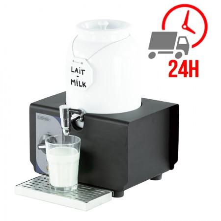 Distributeur de lait chaud en porcelaine 4L