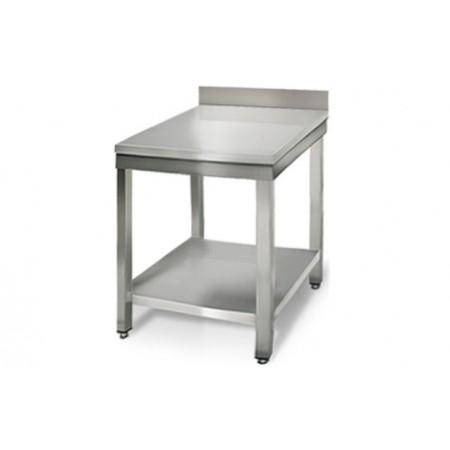 Table inox 600 x 700 mm adossée / GOLDINOX