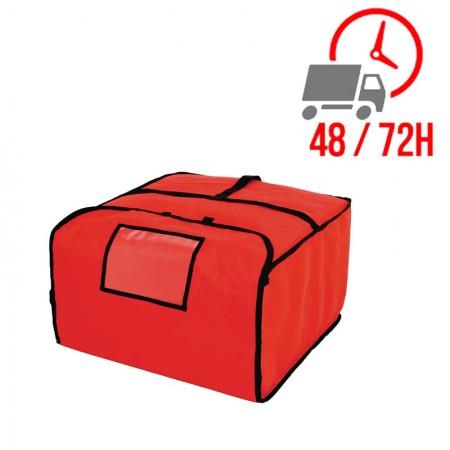Grand sac à pizza isotherme Vogue - 510x510x305 mm