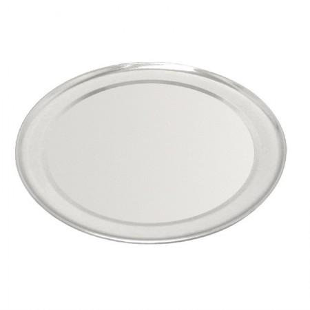 Plaque à pizza en aluminium 8 mm de profondeur - Ø 25,5 cm