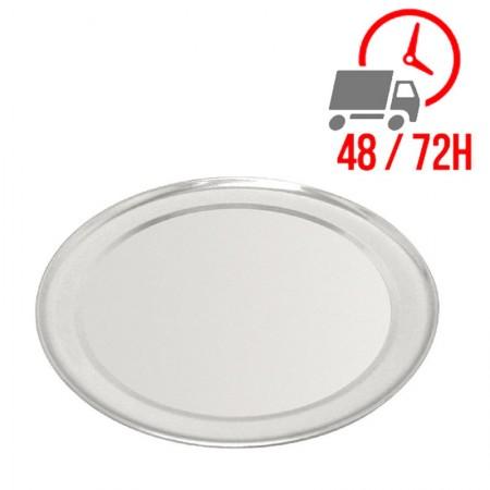 Plaque à pizza en aluminium 8 mm de profondeur - Ø 35 cm