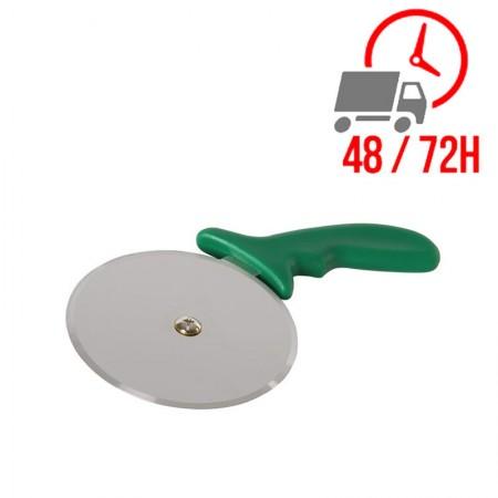 Roulette à pizza Vogue - VERT - 102 mm