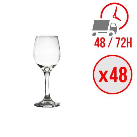 Verre à vin 245ml / x48 unités / Olympia