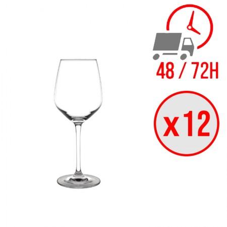 Verre à vin en cristal Chime 365ml / x12 unités / Olympia