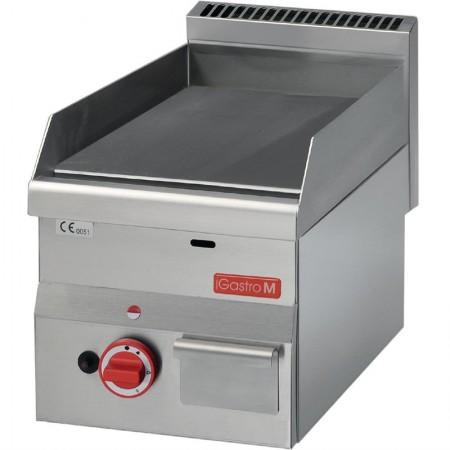 Plaque de cuisson gaz 300 x 600 mm (5.2kW) - Surface acier lisse