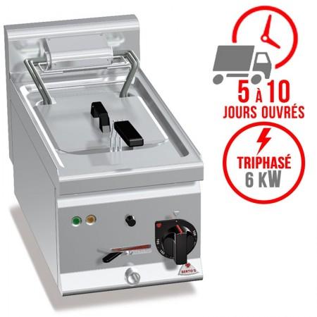 Friteuse électrique 10 litres (6kW) à poser - BERTO'S