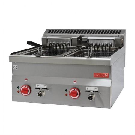 Friteuse électrique 2 x 10 litres (7.5kW) à poser - GASTRO M