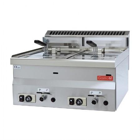 Friteuse gaz 2 x 8 litres (13.6kW) à poser - GASTRO M