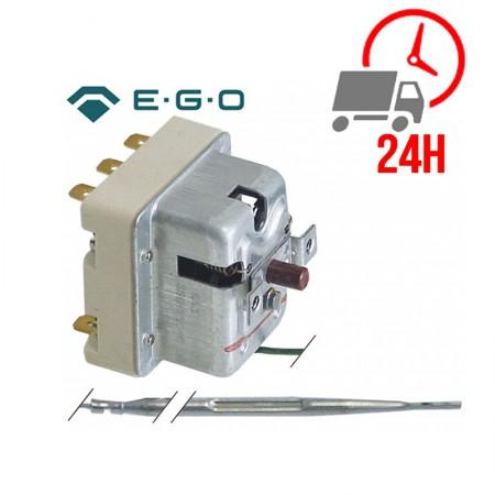 Thermostat de sécurité / temp. déconnexion 360°C 3-pôles NC 20A sonde ø 4mm sonde L 120mm