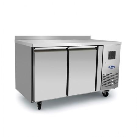 Table réfrigérée 600 / 2 portes avec dosseret