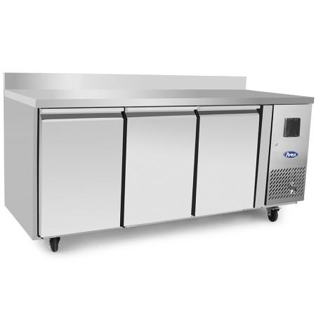 Table réfrigérée 600 / 3 portes avec dosseret