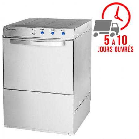 Lave-vaisselle 500x500 mm avec pompe de vidange - 230/400V - STALGAST