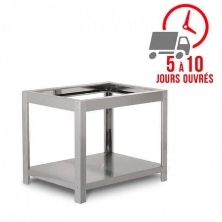 Support four à pizza gaz 6 + 6 x 33 cm (profondeur) / RESTONOBLE