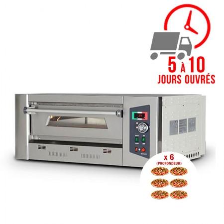 Four à pizza gaz 6 x 33 cm (profondeur) / RESTONOBLE