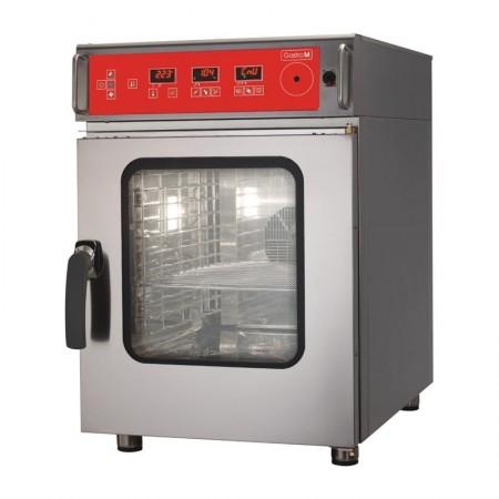 Four électrique mixte à injection directe 6 niveaux GN 1/1 auto-nettoyant - GASTRO M