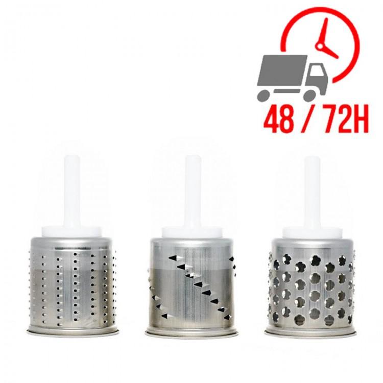 Cylindres supplémentaires pour trancheur et éminceur (3 unités) / KITCHENAID