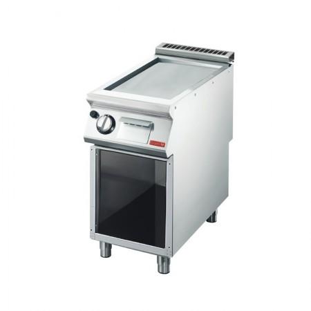 Plaque de cuisson gaz sur pieds 400 x 700 mm (5.7kW) - Surface acier lisse