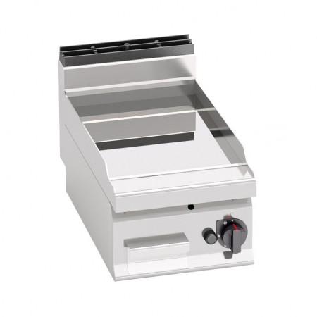 Plaque de cuisson gaz 400 x 700 mm (6.9kW) - Surface acier chromée