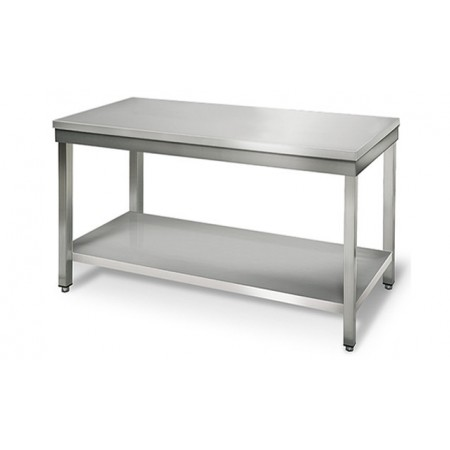 Table inox 1400 x 600 mm / RESTONOBLE