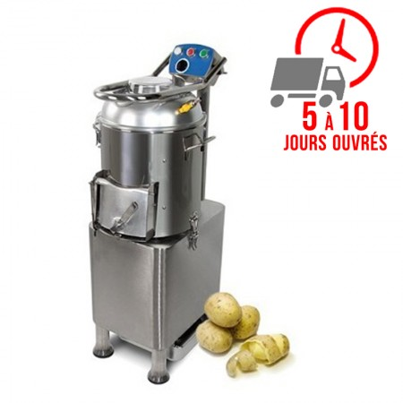 Éplucheuse à patates - 165kg par heure / RESTONOBLE