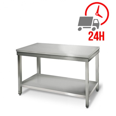 Table inox 1000 x 600 mm / RESTONOBLE