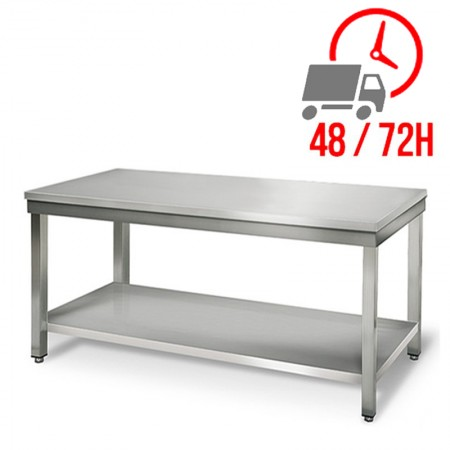 Table inox 1800 x 600 mm / RESTONOBLE