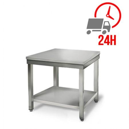 Table inox 700 x 700 mm / RESTONOBLE