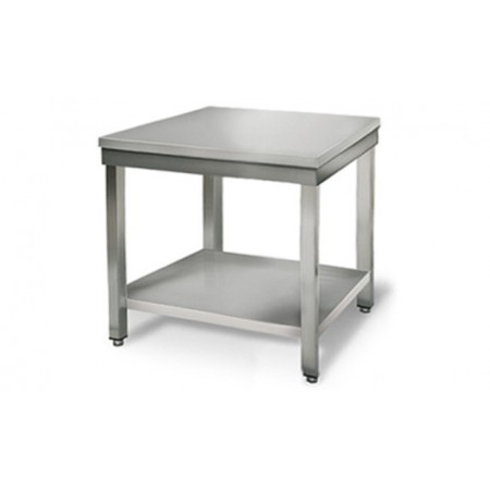 Table inox 700 x 700 mm / RESTONOBLE