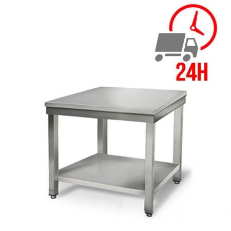 Table inox 800 x 700 mm / RESTONOBLE