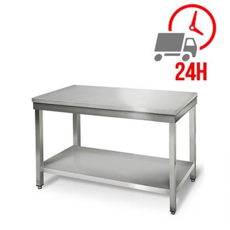 Table inox 1000 x 700 mm / RESTONOBLE