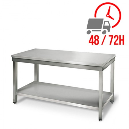 Table inox 1500 x 700 mm / RESTONOBLE