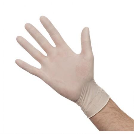 Gants en latex poudrés (lot de 100) - Taille M / RESTONOBLE
