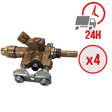 Robinet de gaz MOD2 pour machine à kebab GURDEN / ARCHWAY (LOT DE 4)