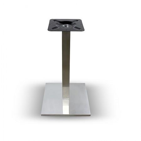 Pied de table Resimet inox / RESTONOBLE