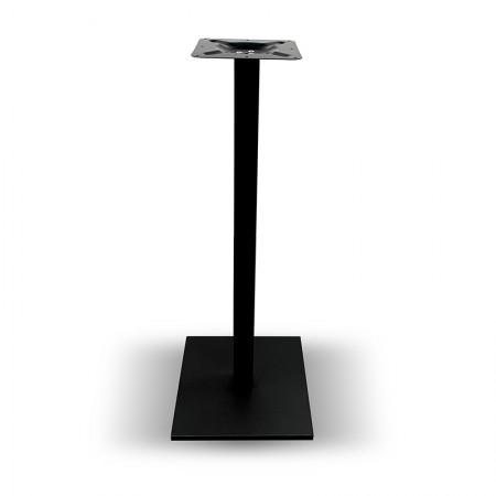 Pied de table haut Resimet noir / RESTONOBLE | Enlèvement Entrepôt