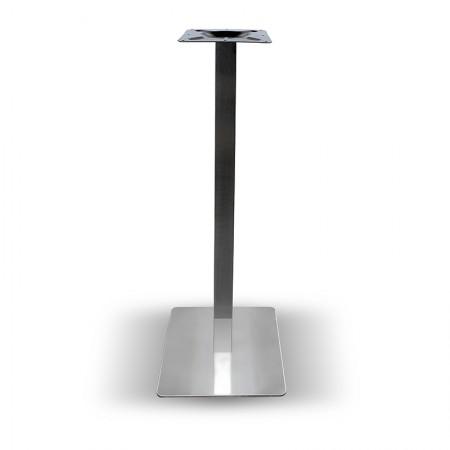 Pied de table haut Métal inox / RESTONOBLE | Enlèvement Entrepôt