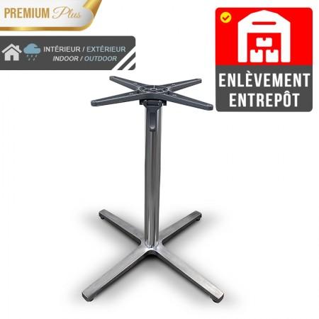 Pied de table basculant en aluminium / RESTONOBLE | Enlèvement Entrepôt