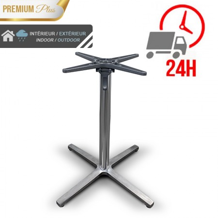 Pied de table basculant en aluminium / RESTONOBLE
