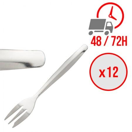 fourchette à dessert 140 mm / x12 / Olympia