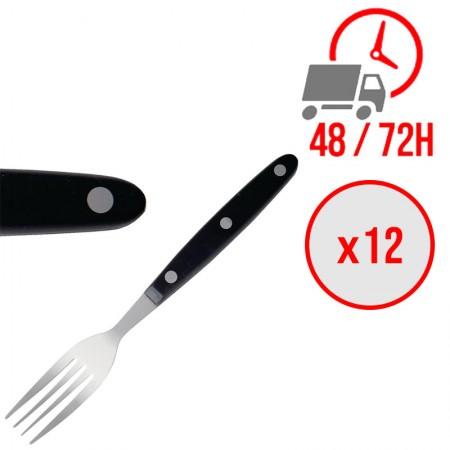 Fourchettes à viande 200 mm Noir / x12 / Olympia