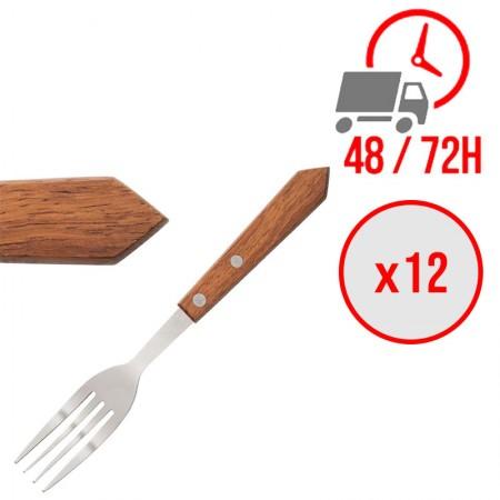 fourchette à viande 200 mm bois / x12 / Olympia