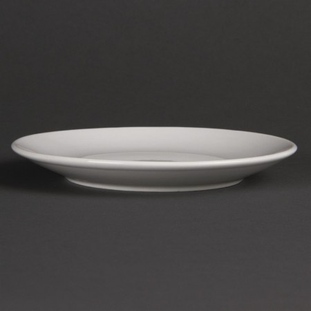 Assiettes plates rondes (Ø150 mm) / x12 / Olympia
