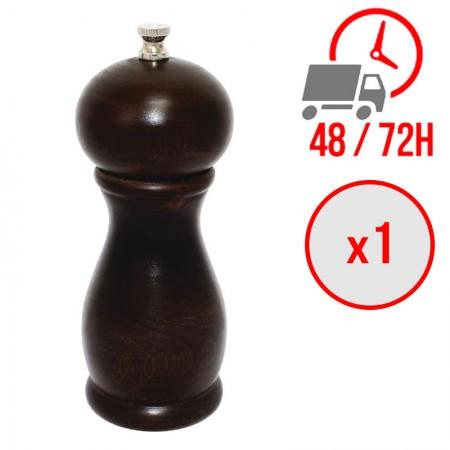Moulin à sel et poivre en bois foncé (254 mm) / Olympia